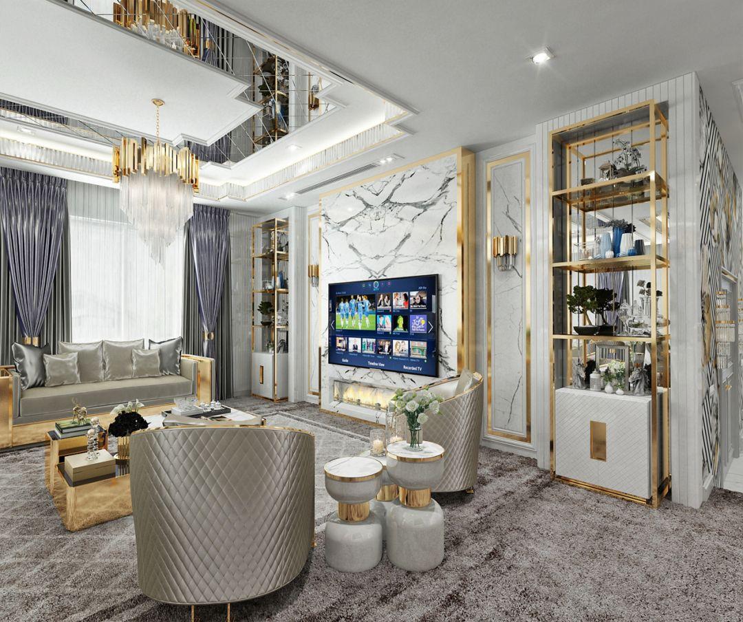 Salon - Tv Bölümü / Living Area
